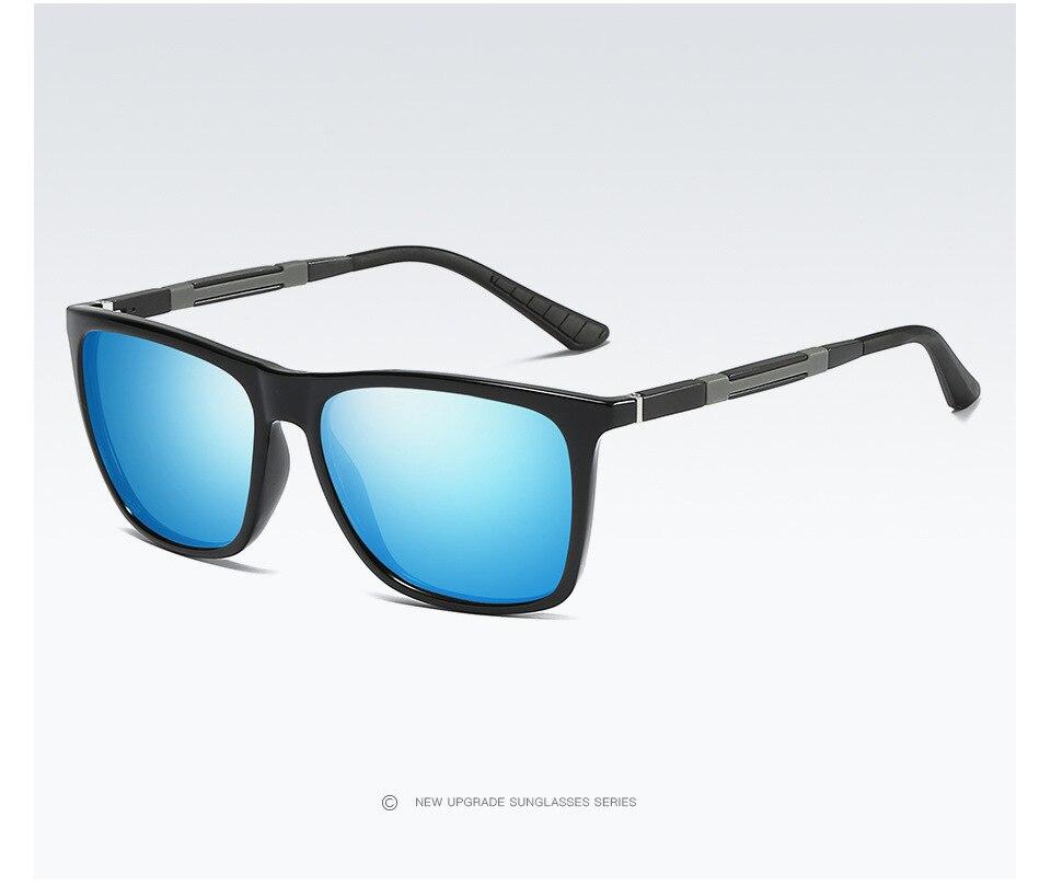 New Men/women Polarized Sunglasses Colorful Sunglasses Fashion Night Vision Mirror Aluminum Magnesium Mirror Legs A547 Driver Goggles