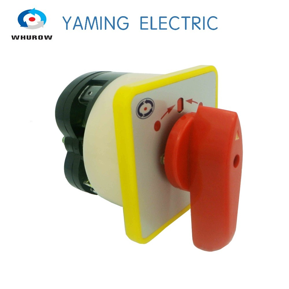 Lights & Lighting Switches Intelligent Self-return Momentary Rotary Switch Self Reset 3 Position Single Phase 4 Terminals Manual Changeover Cam Switch Lw5-16/1b