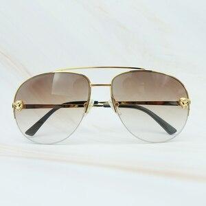 Metal Frame Sunglass Luxury Ca