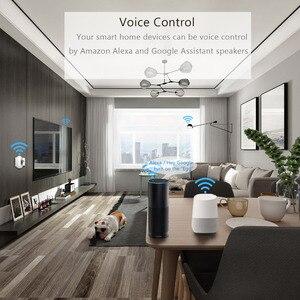 Image 5 - Wifi Socket met gratis gift oplaadkabel Smart plug16A US EU UK India Plug Voice Afstandsbediening Werk met Alexa tuya App