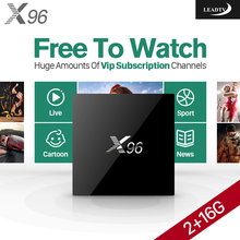 Здесь можно купить  4K Smart Android TV Set Top Box S905X 2G+16G IPTV Box with HD IPTV Subscription 1 Year 700+ IPTV Arabic Europe UK Sport Channels