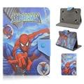 Spider Man Batman Dibujos Animados Caso Universal de 7.0 pulgadas de la Tableta de LA PU Leathet la cubierta del soporte para asus huawei lenovo 7.0 tableta para niños de regalo