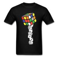 キューブクラップスtシャツ男性プレイサイコロローリングtシャツ面白いtシャツトップ販売服春夏トップス& tシャツメンズ