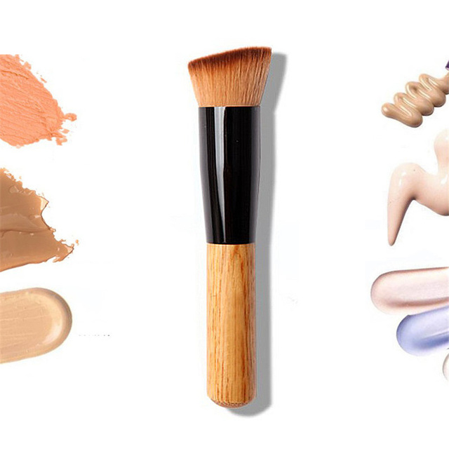 Professional Concealer Foundation Brushes Makeup Brush Nature Contour BB & CC Cream Base Powder Brushes Face Shadow Brush Tools 1