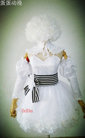 2016 Kuroshitsuji Black Butler Book of Circus Doll Cosplay Costume Doll White Skirt