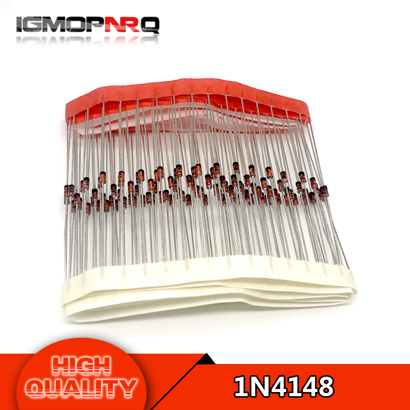 100pcs/lot 1N4148 IN4148 do-35 High-speed switching  new original free shipping100pcs/lot 1N4148 IN4148 do-35 High-speed switching  new original free shipping