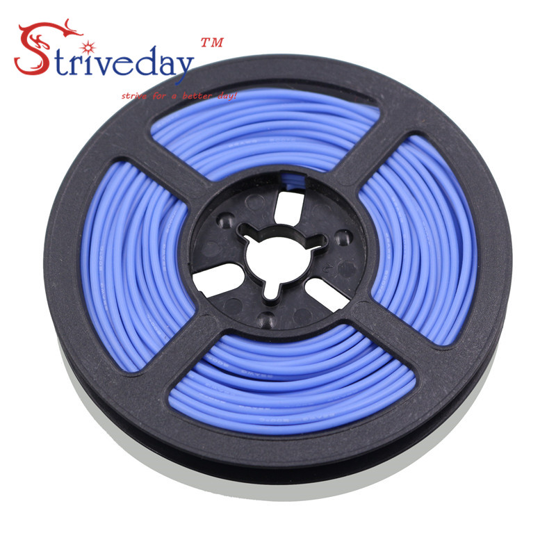 100 meters/roll (328ft) 26AWG high temperature resistance Flexible silicone wire tinned copper wire RC power Electronic cable 100 meters 328ft 20awg high temperature resistance flexible silicone wire tinned copper wire rc power cord electronic cable