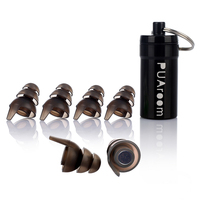 High Fidelity Earplugs Silicone Noise Reduction Protection With 3 Different Sizes For Sleeping Concert Travel Other
