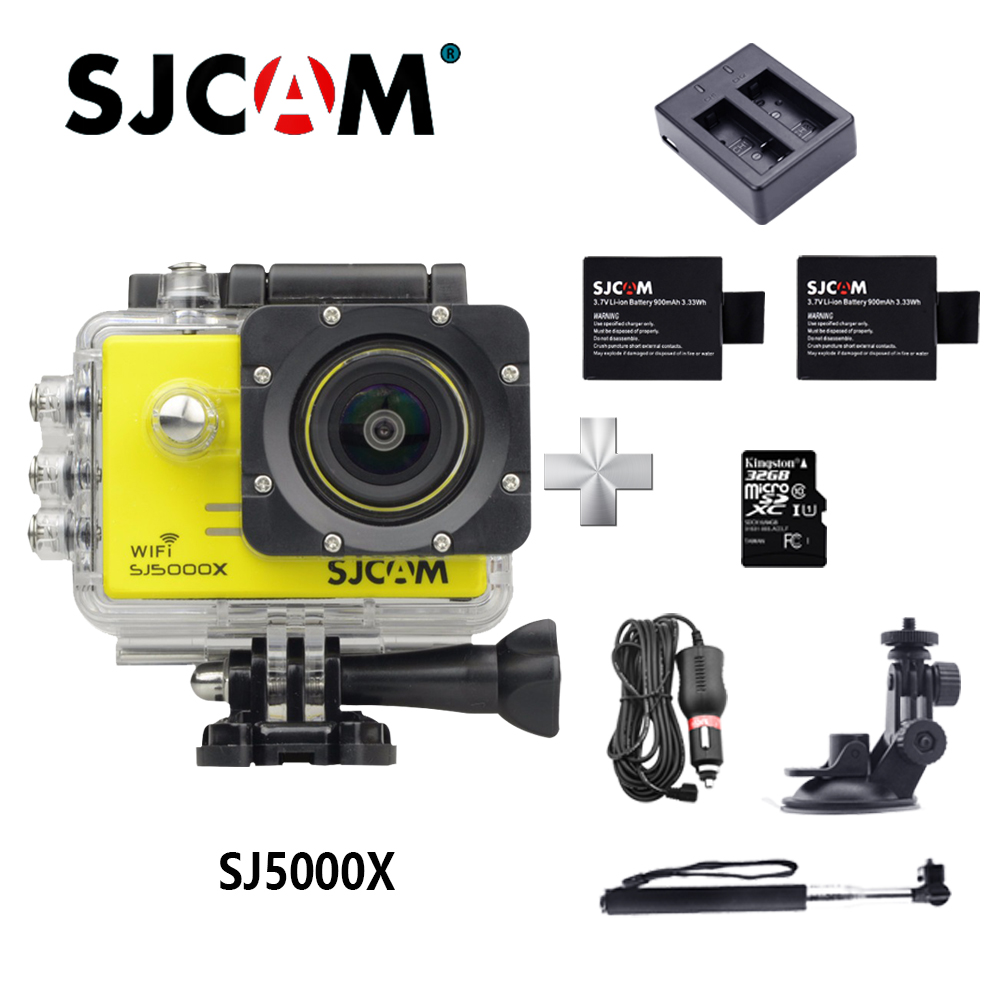 Unterhaltungselektronik Ursprüngliche Sjcam Sj5000x Elite Action Kamera Wifi 4 Karat Gyro Hd 2,0 Lcd Ntk96660 Wasserdichte Cam 1080 P Sport Kamera Go Extreme Pro