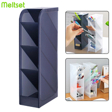 2019 New 4 Grid Desktop Storage Box Home Makeup Cosmetic Organizer Office School Pen Pencil Storage Case Holder for Underwear все цены