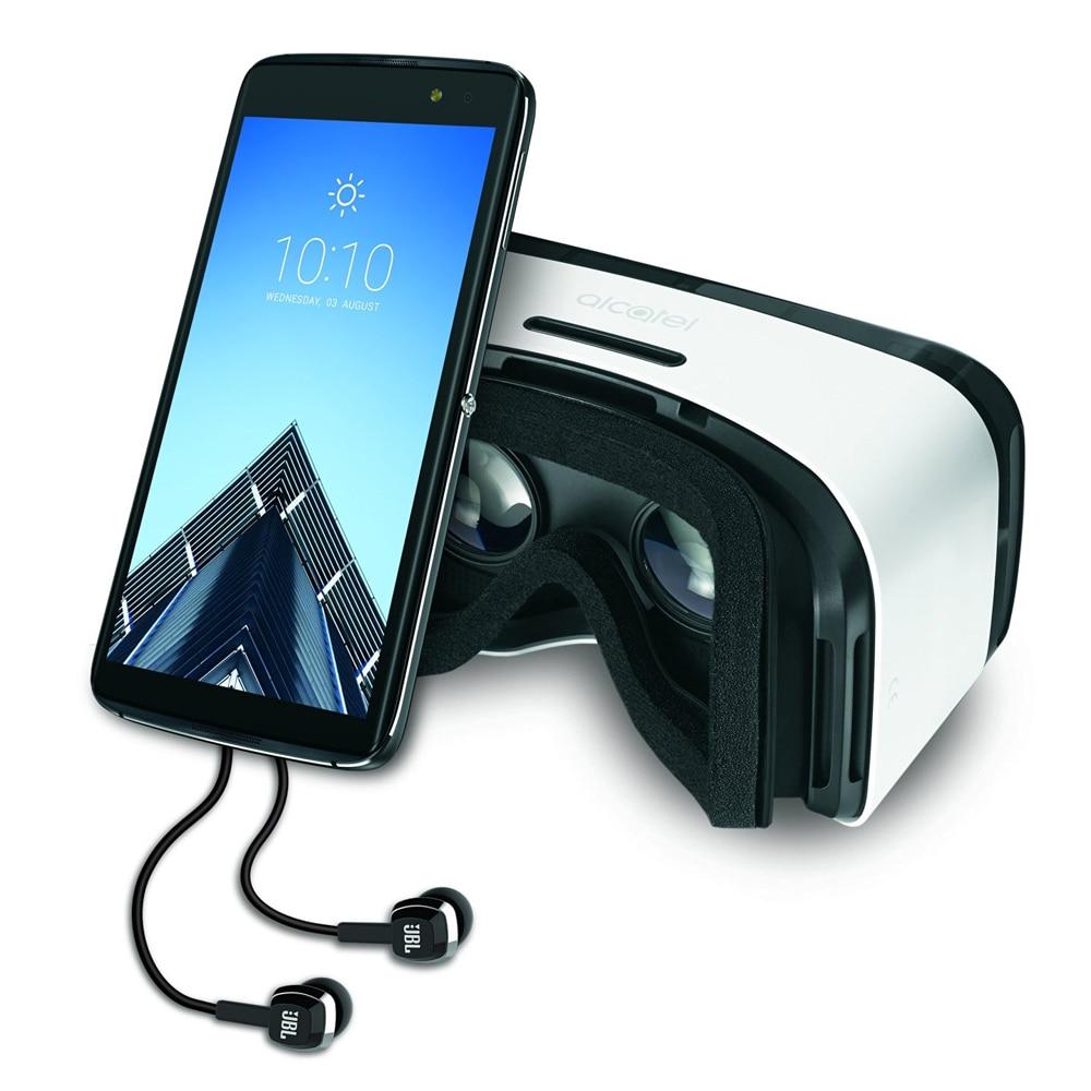 Alcatel idol4s original 32 gb rom mobile phone snapdragon 652 3 gb de ram 5.5 2560x1440 16mp câmera nfc jbl fone de ouvido vr