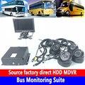 AHD hd video loop-aufnahme automatisch schreibt Bus Überwachung Suite lokalen mega pixel video Überwachung rekord MDVR
