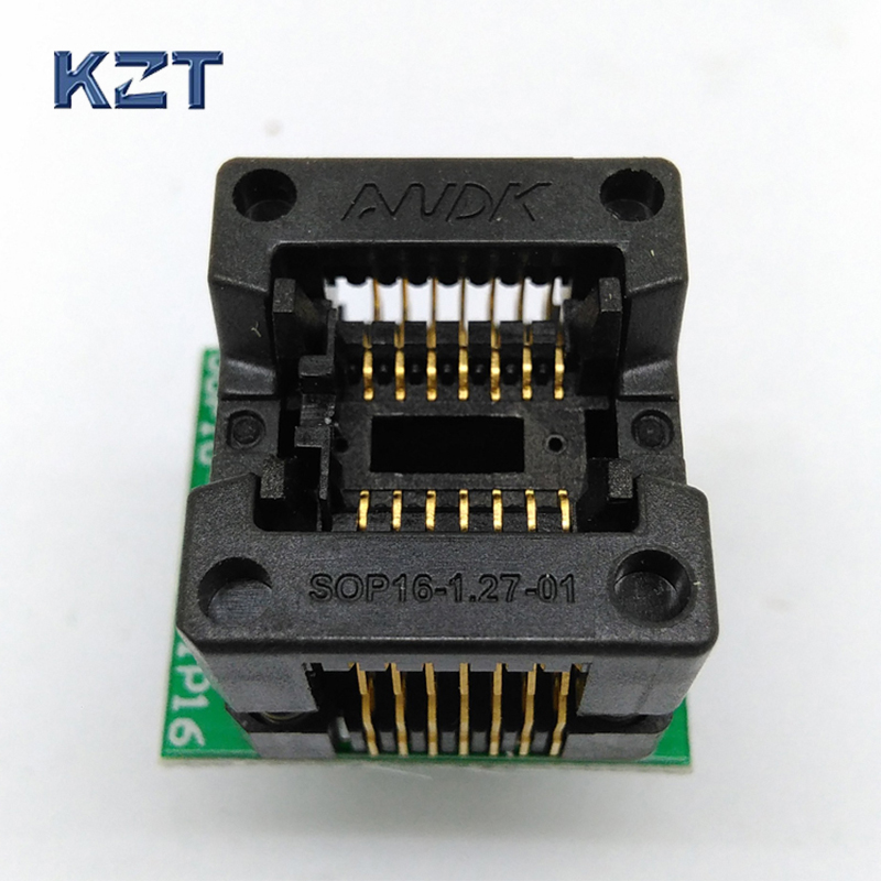 SOP14 SOIC14SO14 To DIP14 Programming Socket Pitch 1.27mm IC Body Width 3.9mm 150mil Test Socket Adapter Programmer 74hct125d sop14 3 9