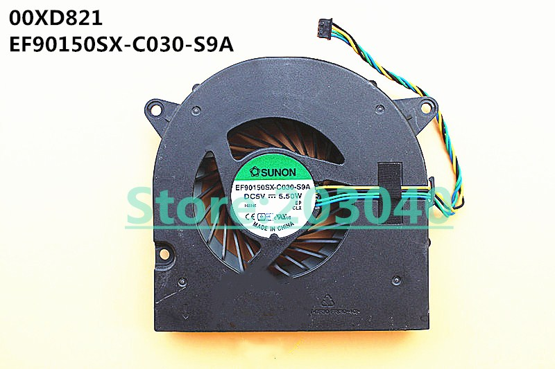 New Laptop/Notebook CPU/GPU cooling Fan for Lenovo AIO ideacentre 520 520-22IKU 520-22IKL 510-23ASR EF90150SX-C030-S9A 00XD821 image