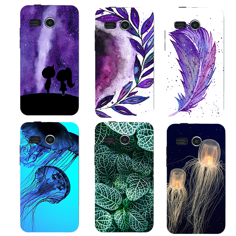 soft silicone tpu Cool Cute Animal Flower Phone Cases For Lenovo A316 4.0 inch A316I 316 Phone Cover Phone Shell
