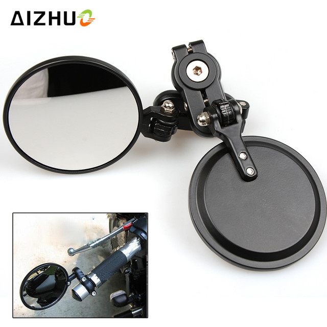 7/8'' 22mm Motorcycle bar End Mirror Rearview side Mirror For HONDA CBR600 CBR900 CB919 CBR650F CBR 600 F2 F3 F4 F4i NC700 S/X