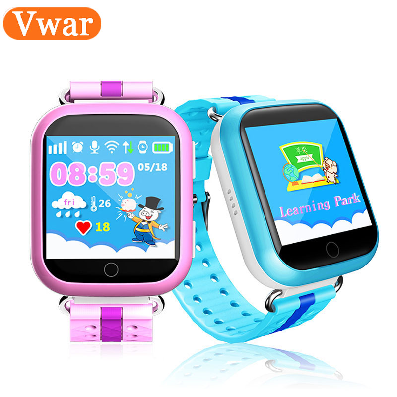 GPS WIFI Baby Smart Watch Q750 Q100touch screen SOS Call Location Device Tracker for Kid Safe PK Anti-Lost Monitor Q60 Q80 Q90