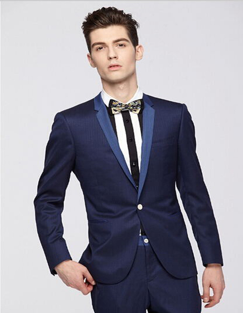 Top Selling Casual Suits Groom Wedding Tuxedos Formal Party Suits ...