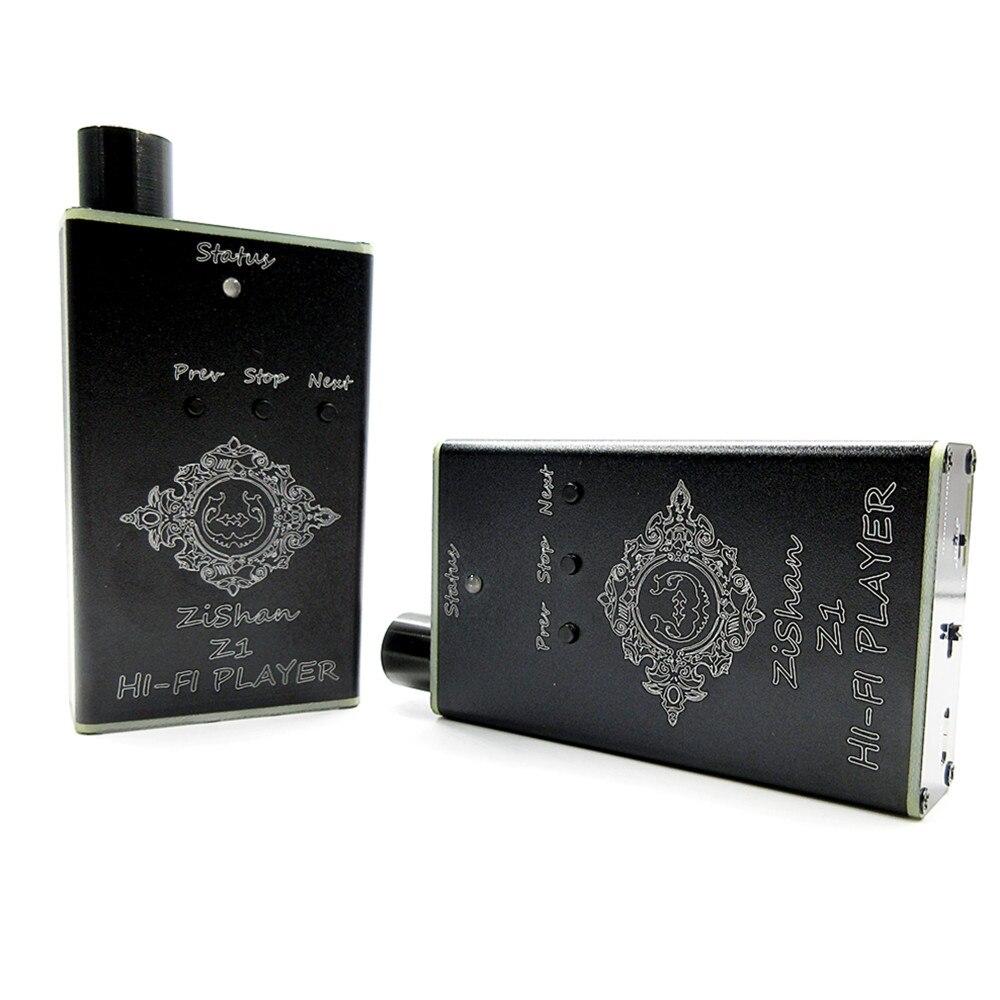 100% Новые DIY MP3 zishan Z1 DSD игрок без потерь музыка MP3 HiFi плеера Поддержка Усилители для наушников DIY USB звуковая карта
