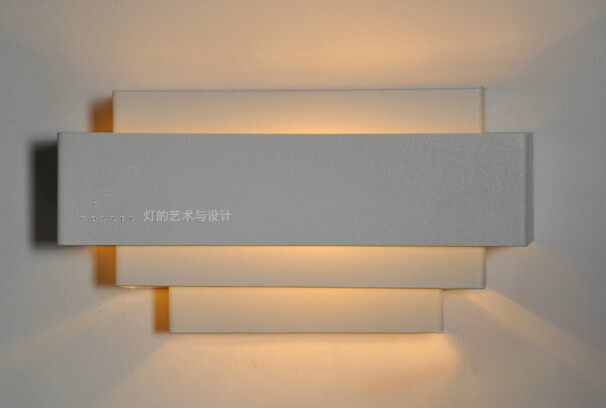 Brief modern fashion home furnishings ofhead led  white wall lamp Iron material E27 BaseBrief modern fashion home furnishings ofhead led  white wall lamp Iron material E27 Base