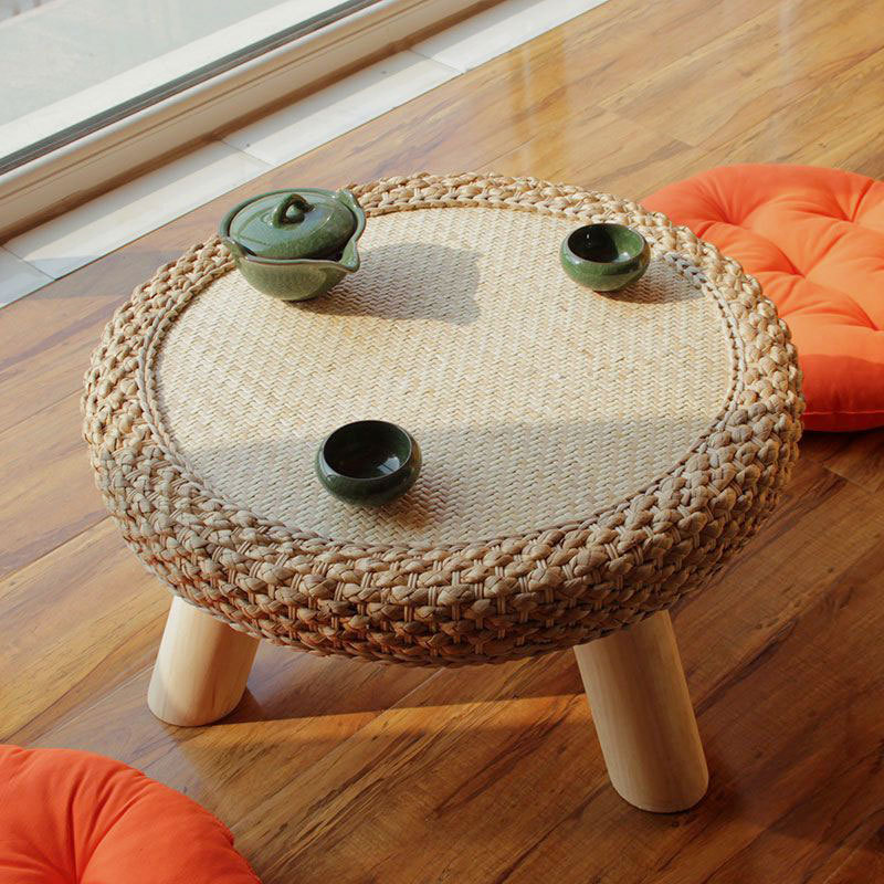 HANDMADE modern living room stool Durable bamboo made small bench portable Fishing Stool Bamboo Wood Folding Stool bamboo bamboo portable folding stool have small bench wooden fishing outdoor folding stool campstool train