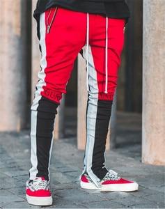 Image 4 - 2020 neue Frühjahr Marke Gym Sport Hosen Männer Jogger Patchwork Fitness Bodybuilding Herren Lauf Hosen Läufer Kleidung Jogginghose