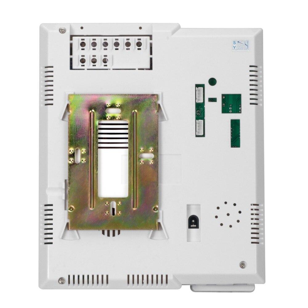 Купить с кэшбэком Intercom  4.3'' TFT Color Wired Video Intercom Door Phone Doorbell System kit for home IR Night Vision Outdoor Camera Waterproof