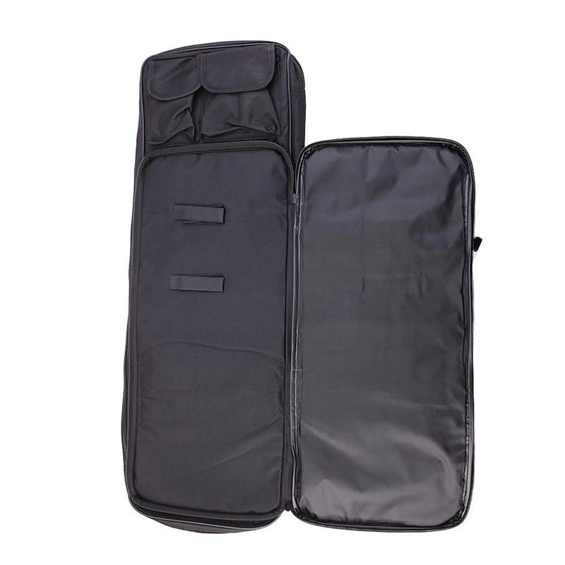 airsoft arma saco quadrado caça transportar saco