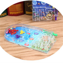 1pcs Games for Humour Toys Gags & Practical Jokes Practical Jokes Novelty Gag Children Toys Scoring Pinball Plate(China)
