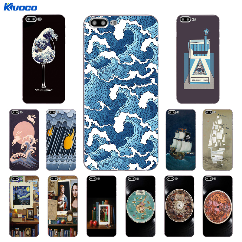 DIY For Apple iPhone 7 / 8 Plus X Phone Case For iPhone 5C 5S SE 10 Shell Soft TPU For iPhone 6 6S Plus Cover Classical Printing