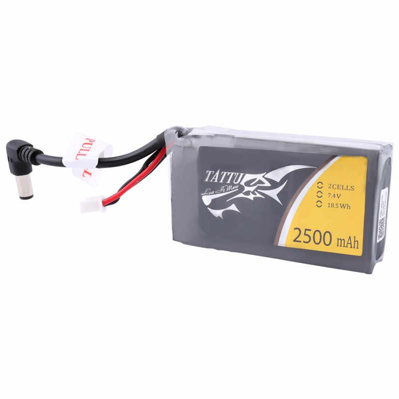 Batería tattu Lipo 2s Lipo de 2500mAh 7,4 V FPV gafas batería para 0 Fatshark gafas HDO RC herramientas accesorios FPV partes