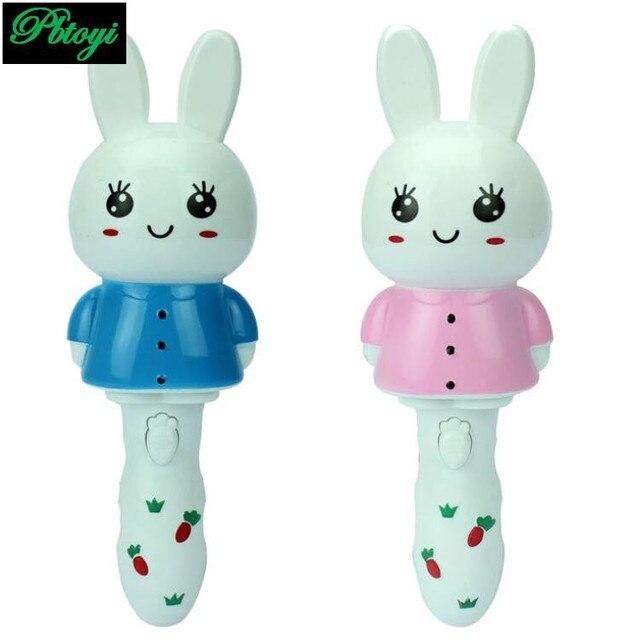 Conejo música luces sacudida puede cantar luminoso de los niños ...