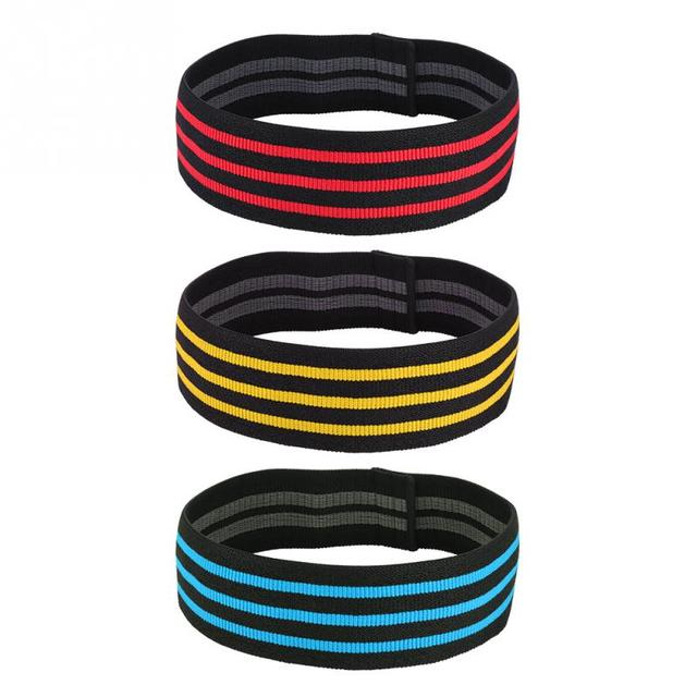 Striped Print Resistance Bands