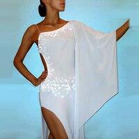 2018 New Lady Latin Dance Dress Women Dance Wear Regata Feminina Roupa De Ginastica Vestido De Baile Latino Costume DQ1001
