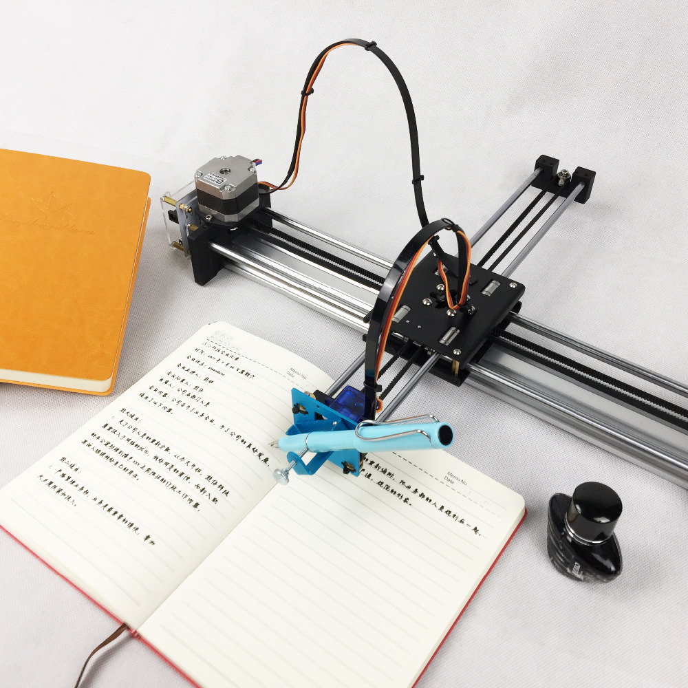Assembled Full Metal Drawing Robot Machine CNC Intelligent Robot For Drawing Writing Imitation Human Handwriting