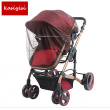 Baby Stroller Crib Netting Cat Mosquito Net Pushchair Cot Moses Basket Pram Carseat Safety Buggy Car Outdoor Protect(China)