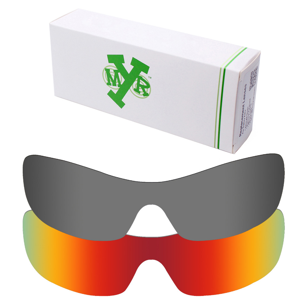 2 Peças Mryok Anti Scratch POLARIZED Lentes de Reposição para óculos Oakley  Lente Antix Sunglasses Fire Red   Black Iridium em Acessórios de Acessórios  de ... a95a77f5c2