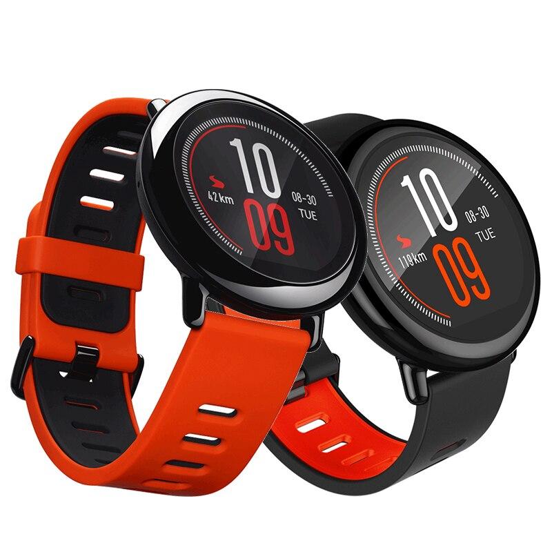 Бесплатная доставка! Xiaomi HUAMI AMAZFIT Pace Спорт Смарт часы Smartwatch Bluetooth, Wi-Fi 1,2 ГГц 512 МБ/4 ГБ gps сердечного ритма