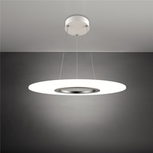 Round LED acrylic 90-260V 36W Simple personality pendant lamp 3000k-6000k Brightness Dimmable Pendant Light.