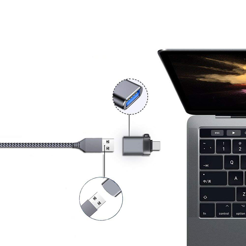 Thbelieve USB A To USB C Adapter KeboardMouseComputer Converter Type C To USB 3.0 Adapters USBC OTG Adaptator USB Tipo C (3)