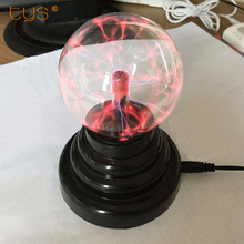 Magic Plasma Ball Sphere Light 220V 3 4 5 6 inch Table Light Night