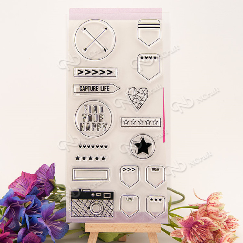 free shipping Clear Stamp Scrapbook DIY photo cards rubber stamp seal stamp happy transparent silicone transparent stamp T-0137 fast free shipping hot 5pcs 40cmx60cm photopolymer plate stamp making diy letterpress polymer stamp maker systerm