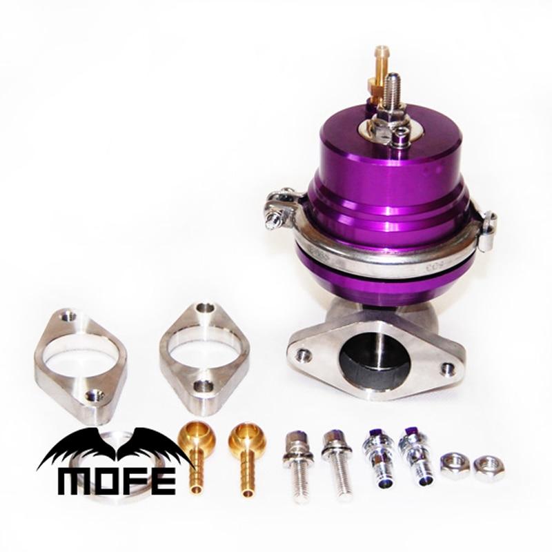 MOFE SPECIAL OFFER Original Logo 38mm V-Band Unadjustable External Turbo Wastegate Puple