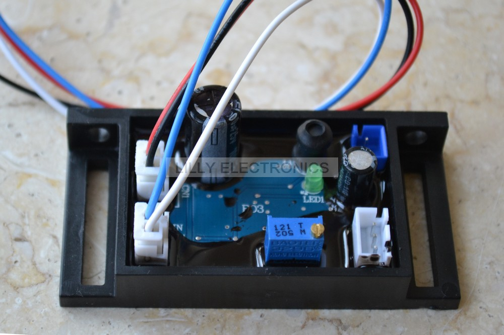 405nm 50mw-200mw Violet/Blue Laser Module 12V Power Supply Driver with TTL