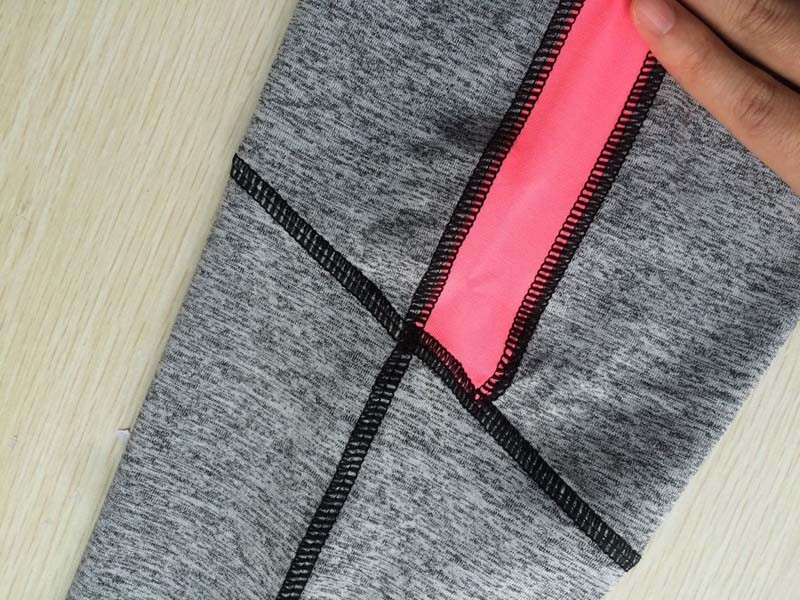 17 Women Lady Activewear Pink Legging Spring Summer light grey Pant Autumn High Waist Leggins 18 American Original Order 15