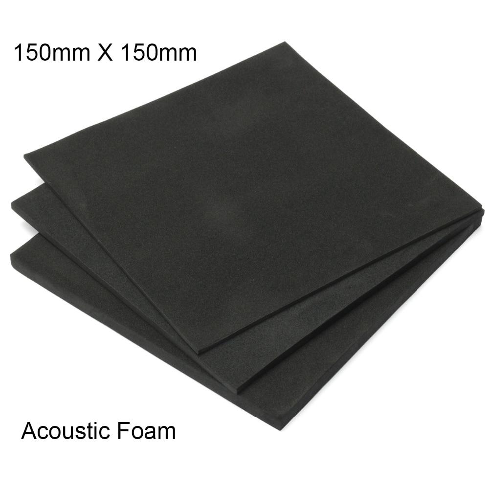 Soundproofing Foam Acoustic Foam 150x150mm Sound Treatment Studio Room Absorption Wedge Tiles Polyurethane Foam 3/5/10mm