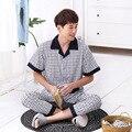 Изготовления Продавая Новый Весной и Летом мужская Одежда С Коротким Рукавом Главная Обстановка Пижамы Трикотажные Южная Корея Стиль