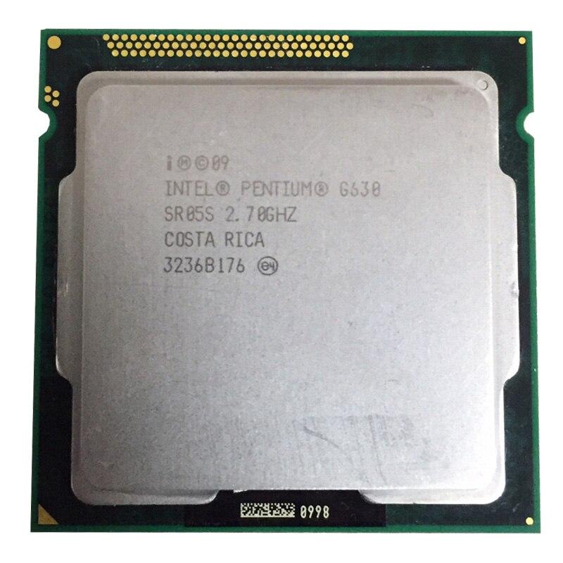 Intel Pentium G630 CPU 3M/2.70 GHz LGA 1155 TDP 65W H61 B75 81 Motherboard Have A Pentium Dual Core G2030 2120 2130 Cpu Sale