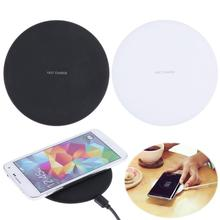 Wireless Fast Charge QI Charger Charging Pad for Mobile Phone Wireless Charger for Samsung Galaxy S8 plus S7 S6 Edge iPhone 8/X atorch qi wireless charger mobile phone tester for iphone x 8 plus samsung galaxy s8 s9 s7 usb fast charger lcd tester display