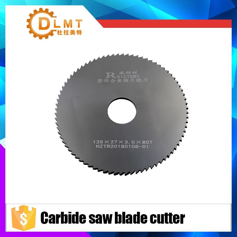 1pcs Circular Saw Blade 125mm 0.5 0.8 1.0 1.5 Carbide Round Milling Saw Cutter 80T CNC Cutter Knife Metal Slotting Cutting Tool 8 circular saw blade metal cutting 42t sold as 1 each